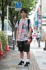 ファッションコーディネート都内 2014年07月 まっす~さん