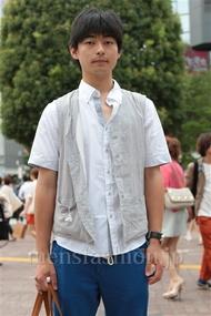 ファッションコーディネート都内 2014年07月 モリリンさん