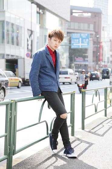 モデル/小島慶太