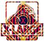 XLARGE®ブランドロゴ