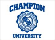 CHAMPION UNIVERSITY ロゴ