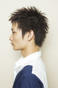 LIPPS吉祥寺(リップスキチジョウジ)×青木健人 ヘアスタイルサイド