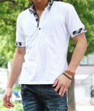 ファッションメンズお薦め|夏のファッションメンズポロシャツ