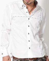 【★オリジナルシャツ★】クロスデザインマルチパターンチェックシャツ