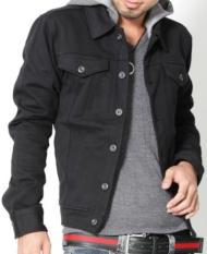 【毎日着ても飽きの来ない、ドンドン好きになるアイテムですよん♪】フード脱着M-65デザインカットジャケット