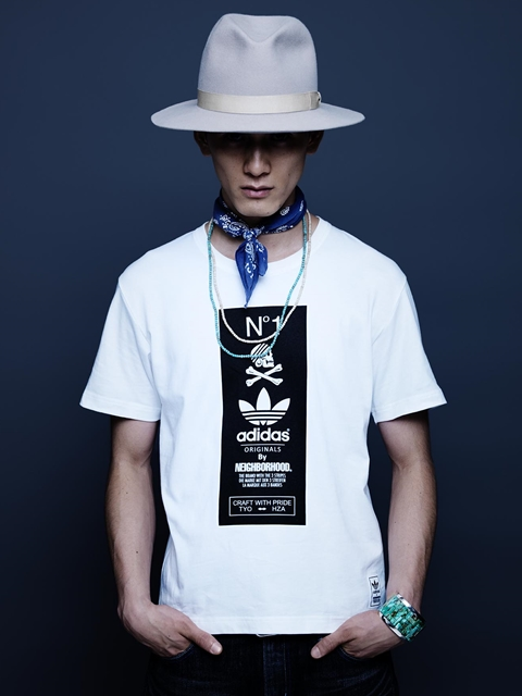 adidas Originals✕NEIGHBORHOOD Tシャツ