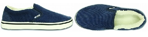 crocs☓atoms Navy-White up_side