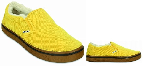 crocs☓atoms Canary-Hazelnut