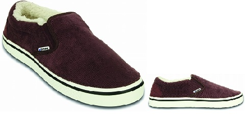 crocs☓atoms Burgundy-White