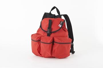 メロ ミディアム3ポケットバックパック レッド フロント