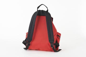 メロ ミディアム3ポケットバックパック レッド バック