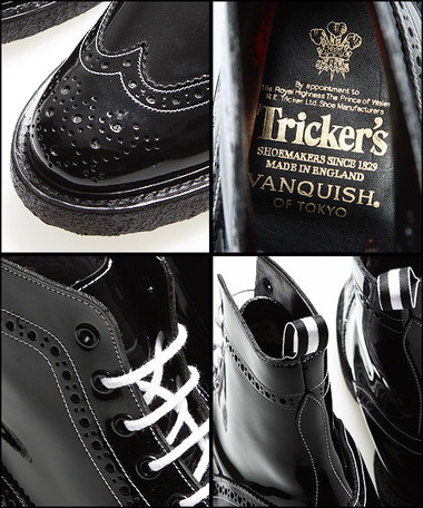 VANQUISH×Tricker's
