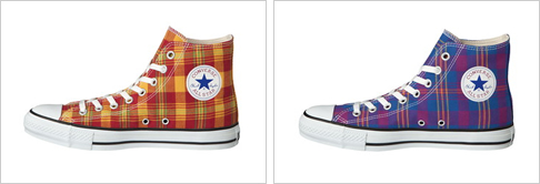 ALL STAR® FRENCH-MADRAS HI