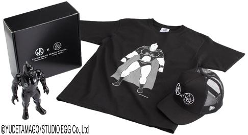 キン肉マンTシャツ 黒