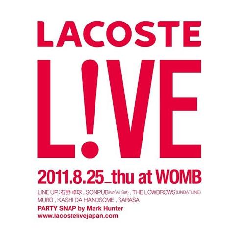LACOSTE L!VE(ラコステライブ)
