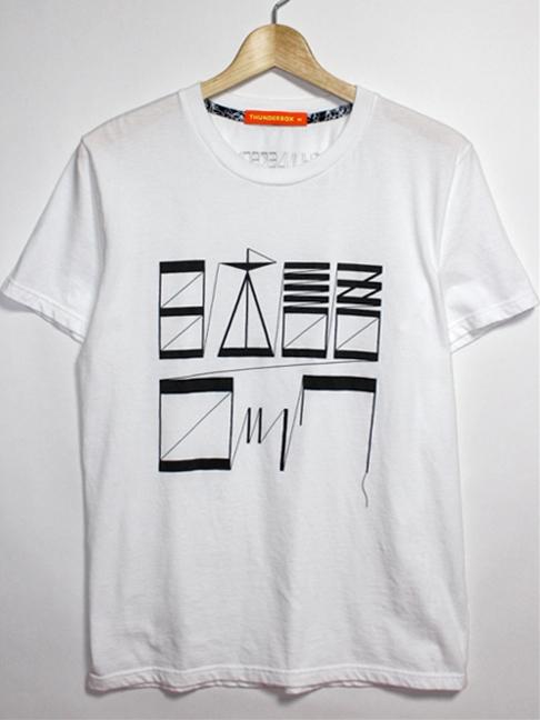 THUNDERBOX Tシャツ白