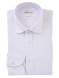 形態安定ワイドカラーシャツ(ピンク)
