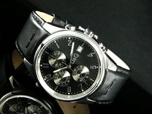 D&G ドルチェ&ガッバーナ 腕時計 クロノグラフ サンドパイパー 371977009