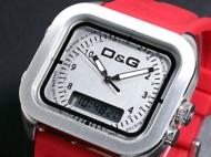 D&G ドルチェ&ガッバーナ 腕時計 アナデジ ボーカルズ DW0300